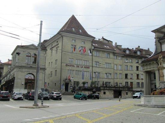 Hotel de la Rose : Fachada