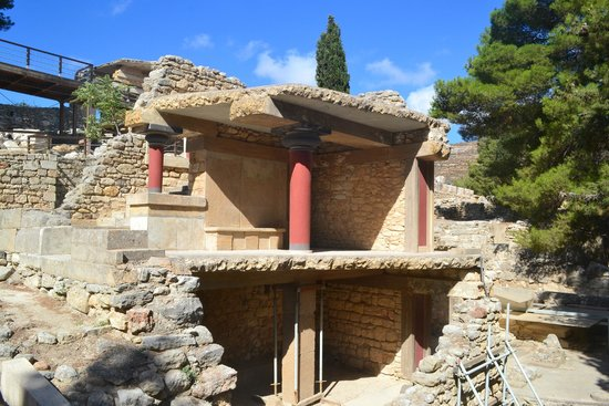 Le Palais de Cnossos : Кносс