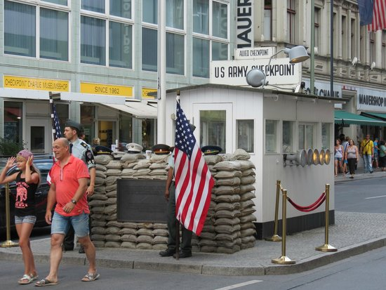 """Checkpoint Charlie: """"Check Point Charley?"""""""