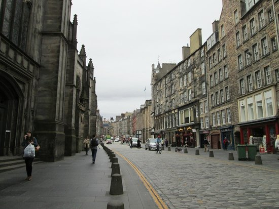 Milla Real: Radison on Royal Mile