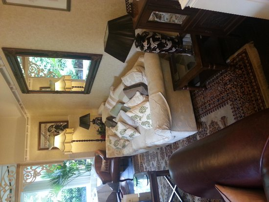Netherstowe House Hotel: where do i sit