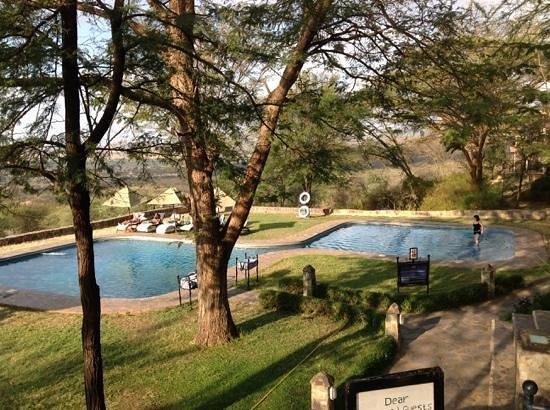 Serengeti Sopa Lodge: pool view