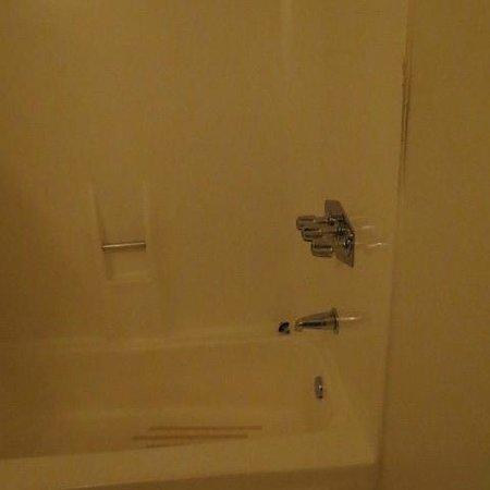 Dana Point Marina Inn : shower