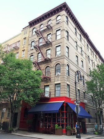 Greenwich Village: The one with the famous building...