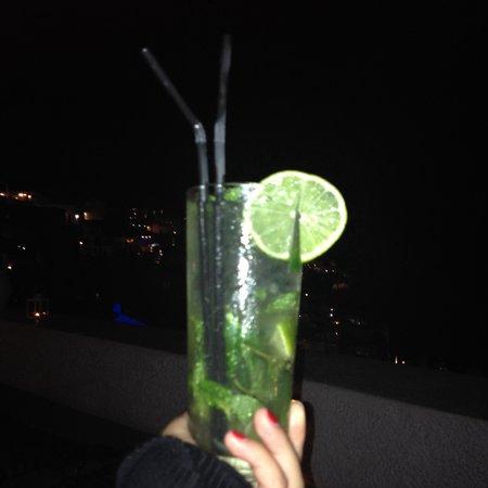 Nomikos Villas : Nice view, nice atmosphere, nice drinks