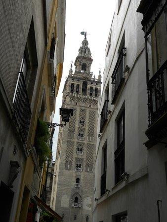 Torre Giralda : vue de la rue