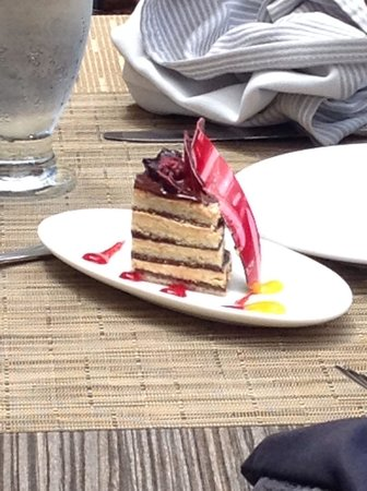 Now Amber Puerto Vallarta: One of the many delicious cakes :)