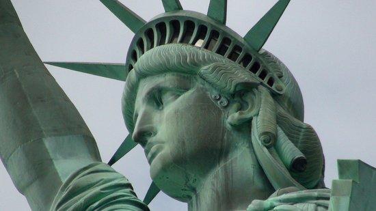 Statue de la liberté : Frihetsgudinnan