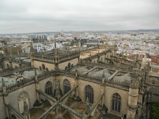 Torre Giralda : vue de la Giralda