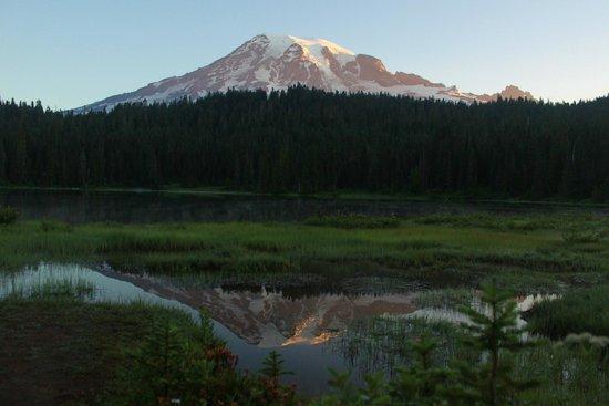 Mount Rainier: First 15 min after sunrise