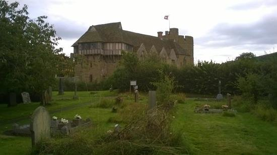 Stokesay Castle: from the church.....