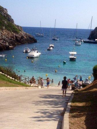 Grupotel Mar de Menorca: The nearby beach