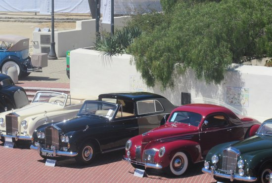 Californie : Custom House Plaza during Concourse d'Elegance, August 2014, Monterey, Ca