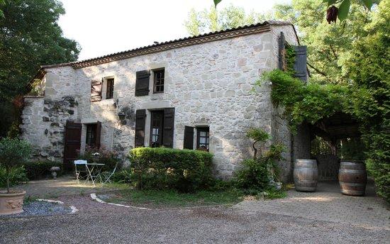 Moulin de Rocquebert : La demeure.