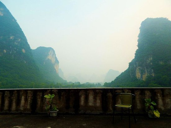 Yangshuo Moon Resort: Views from the room