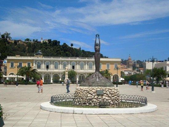 Πλατεία Διονυσίου Σολωμού