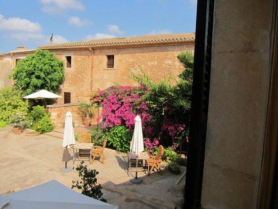 Sa Carrotja, Finca d'Agroturisme: Blick aus unserem Zimmer