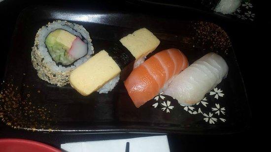St. Sushi: Close up of the Sushi