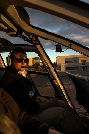 Maverick Helicopters: Our pilot