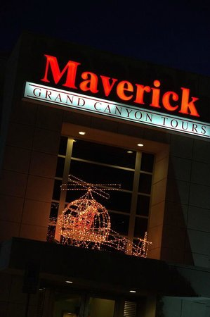 Maverick Helicopters: The Entrance