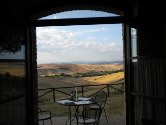 Podere Ampella: View from kitchen