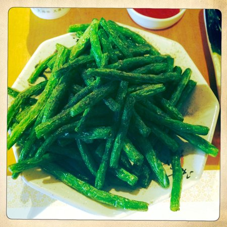 Ten Ren's Tea Time: Fried String Beans