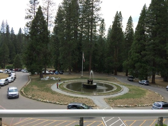 Wawona Hotel: View from main building