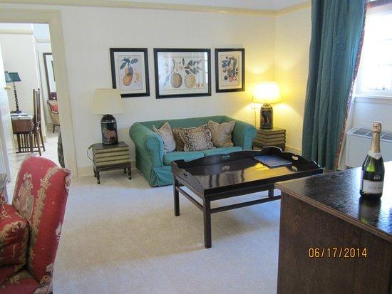 The Victoria Falls Hotel: Suite