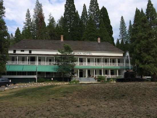 Big Trees Lodge: Main building