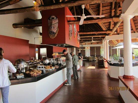 The Victoria Falls Hotel: Buffet