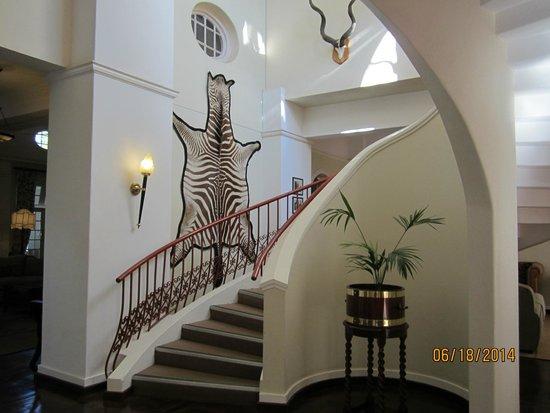 The Victoria Falls Hotel: Grand Staircase