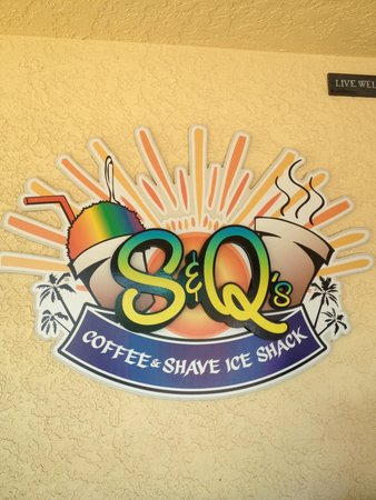 S & Q's Shave Ice and Coffee: Yum