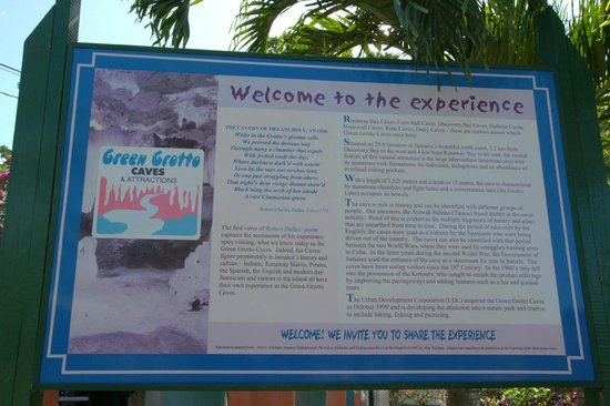 Green Grotto Caves: Welcome