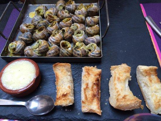 El Patio de la loge : Escargots catalans