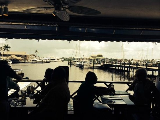 The Dock at Crayton Cove: Love the view of the marina and City Dock!