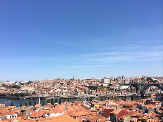 The Yeatman : Vista panoramica su Porto dalla mia camera.