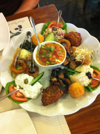Island Lipsi: Vegetarian Meze. €24 for two of us to share. We didn't need anything else.