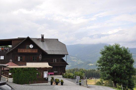 Art-Lodge in den Nockbergen: the exterior