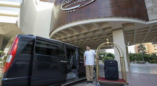 Alaiye Resort & Spa Hotel : Otel Giriş