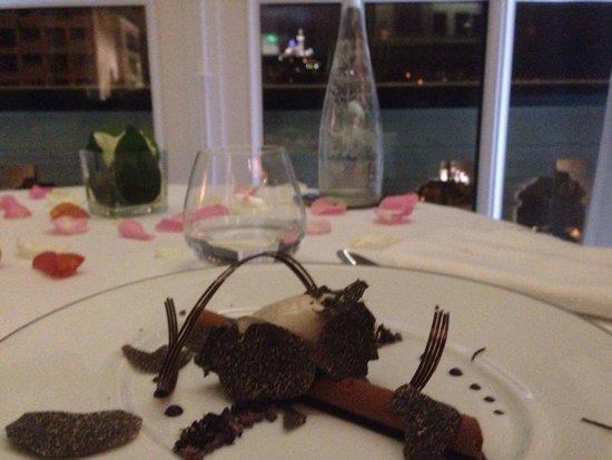 Alcyone : Dessert chocolat/truffes