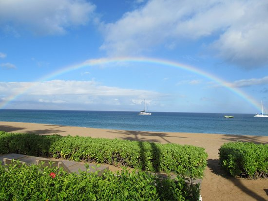 The Westin Maui Resort & Spa: Morning rainbow