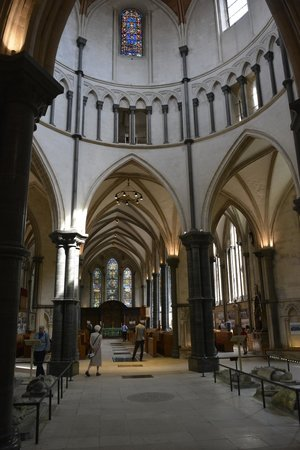 Temple Church: Tranquil Interior