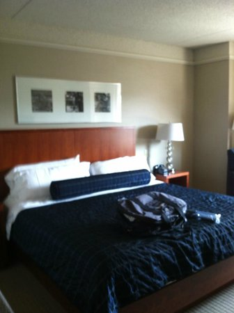 Penn Stater Conference Center: Rm 255 Bed
