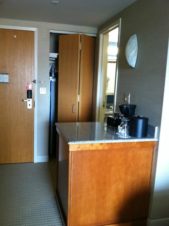 Penn Stater Conference Center: Coffee bar and closet