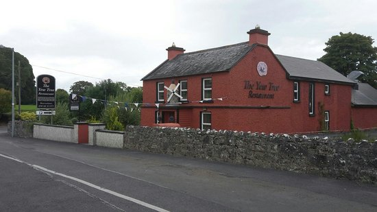 The Yew Tree: Outside view