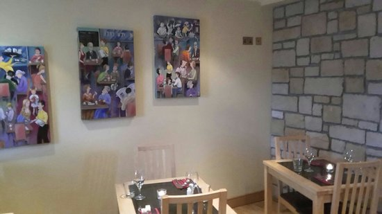 The Yew Tree: View inside