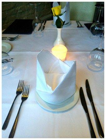 Gurkha Inn: The table