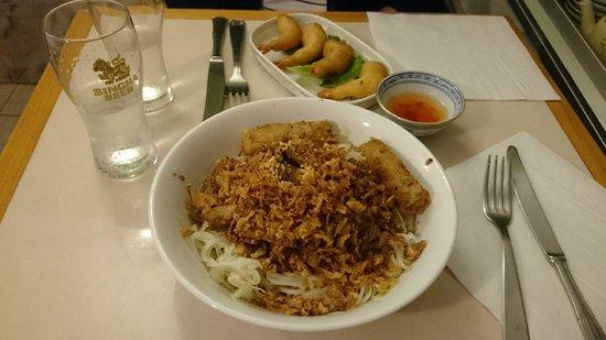 Restaurant Nem : Bo Bun boeuf citronnelle
