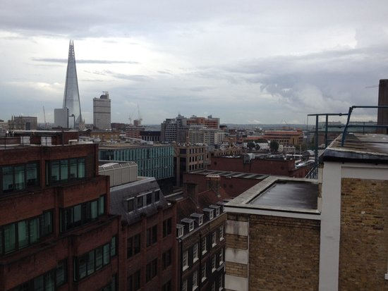 Grange St. Paul's Hotel: View from the Sky Bar across the river