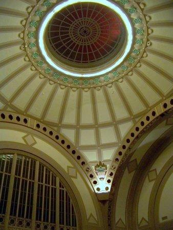 Chattanooga Choo Choo: Lobby dome